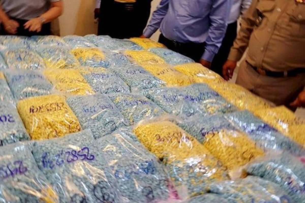 200kg以上の薬物所持・密輸の疑いで6人を逮捕 カンボジア