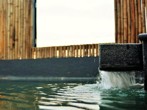 東屋露天風呂