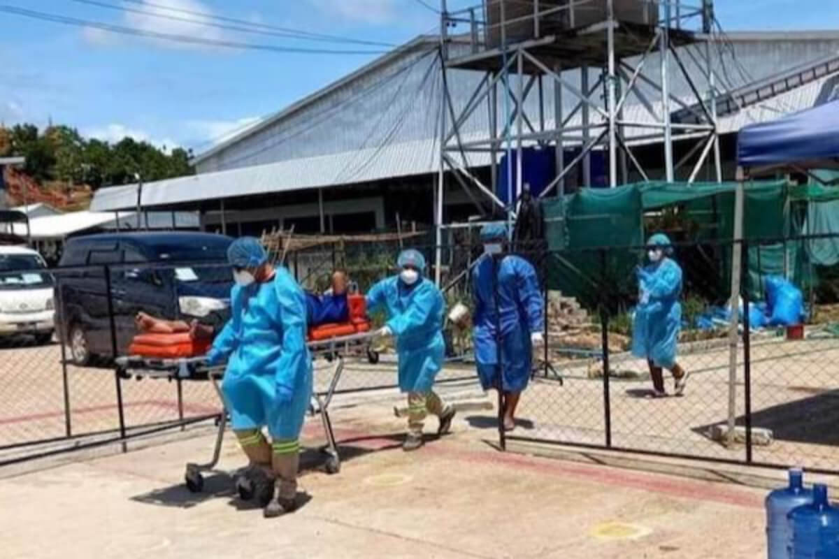 ミャンマー:新型コロナ陽性率約35%に、17日間で死亡者1435人