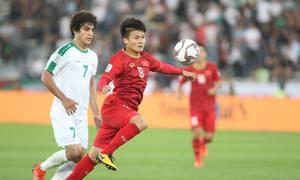 サッカーベトナム、イラク戦敗れる