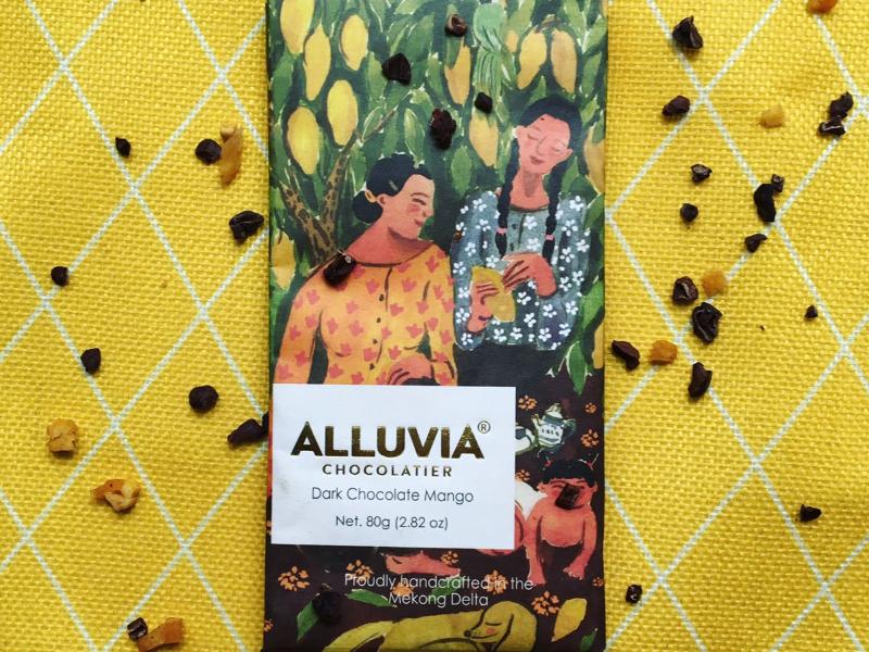 厳選同士の組み合わせ!「ダークチョコレート・マンゴー」12月15日から新発売!【ALLUVIA CHOCOLATE(アルヴィア・チョコレート)】