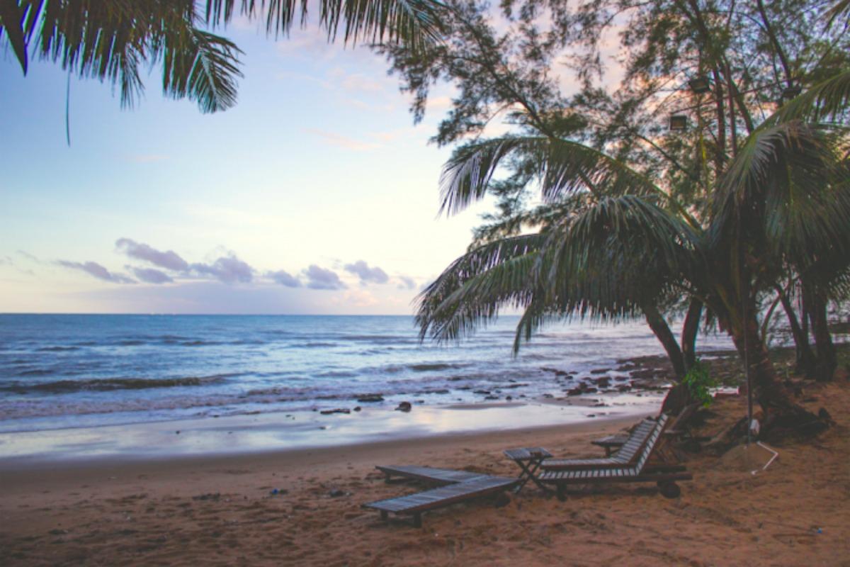 ベトナム・ダナンのノンヌォックビーチ、まるでプライベートビーチ!