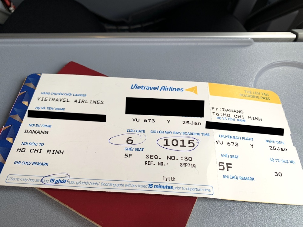 ベトトラベル航空が就航!ダナン線に搭乗しました
