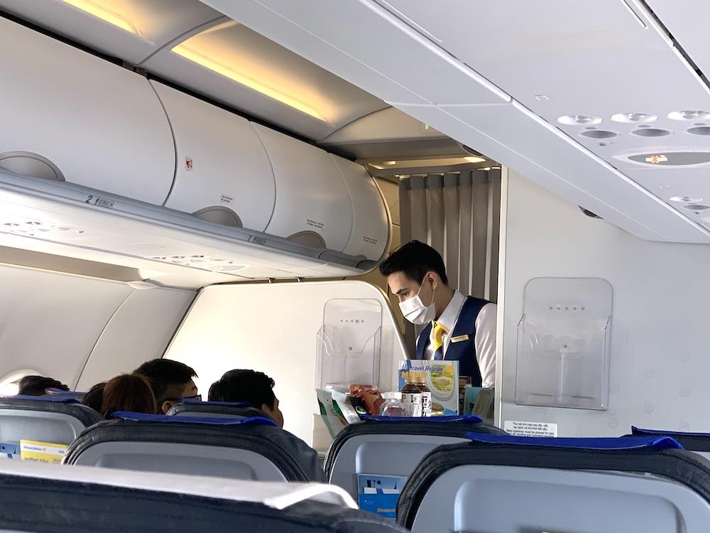 ベトトラベル航空の機内サービス|第1便搭乗紀