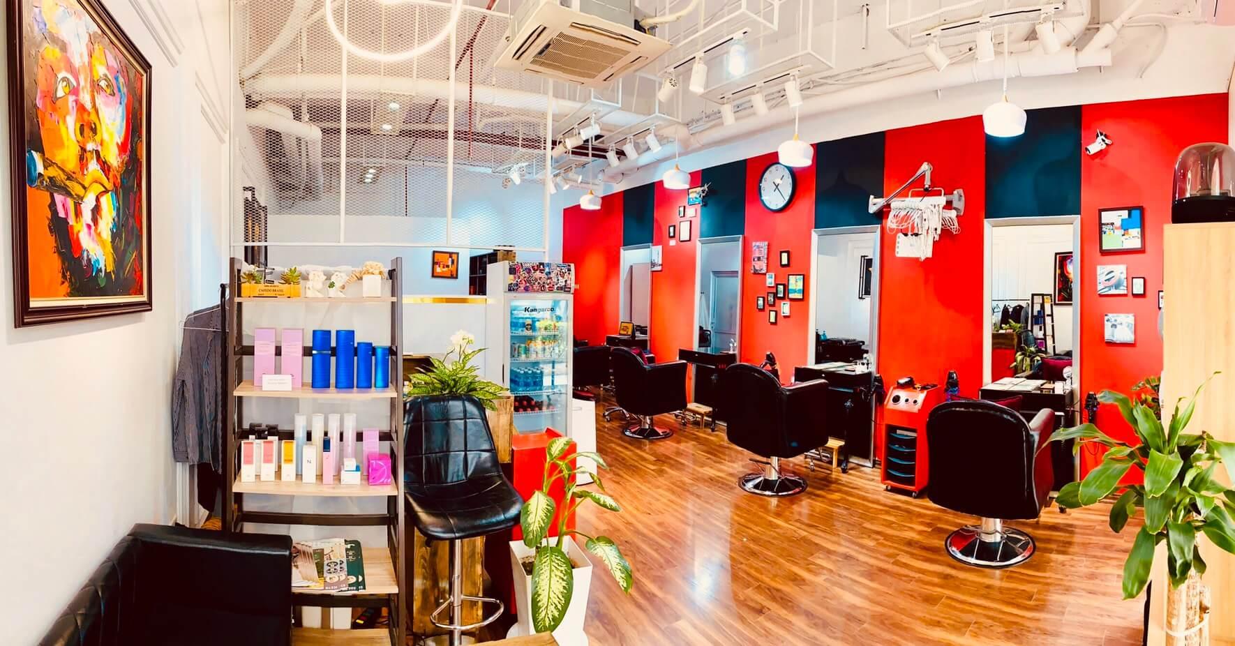 ハノイの日系美容室「ラグドール」