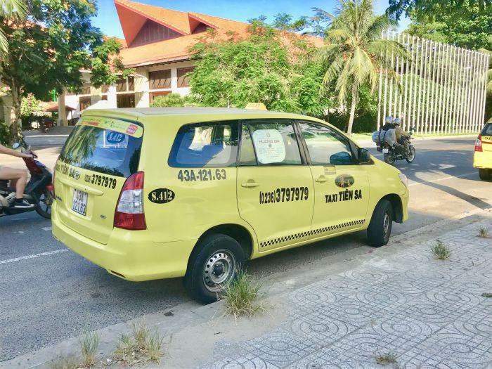 ダナンでタクシー乗るならティエンサー(Tien sa)!! アプリの使い方を徹底解説