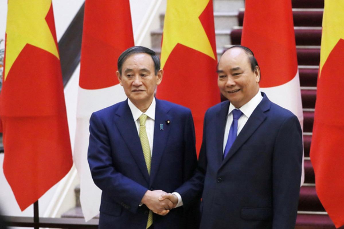 フック首相が菅首相と会談、短期出張者往来再開などで合意