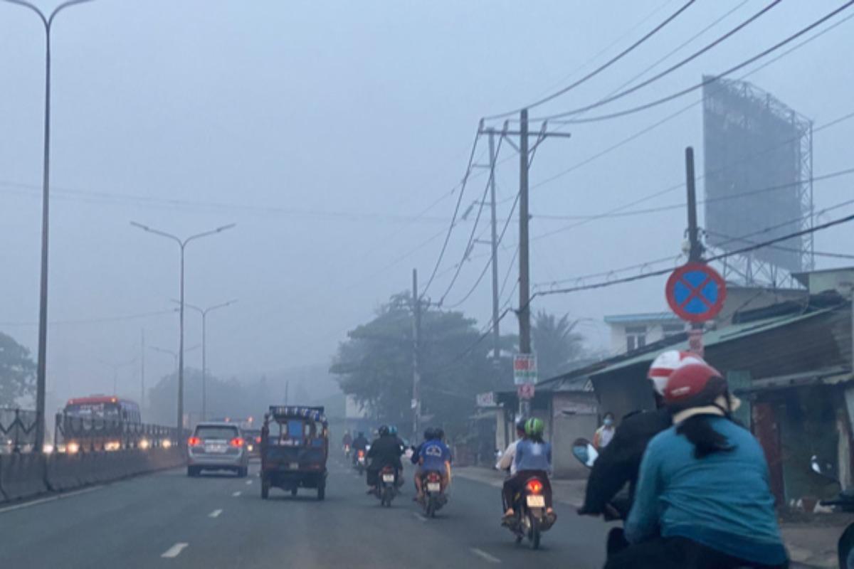 ホーチミンで濃霧、26日まで紫外線は対策必要な強いレベルに
