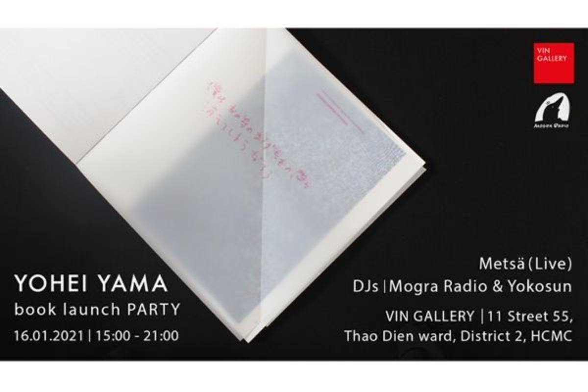ホーチミン在住日本人画家・山洋平の画集出版記念パーティー開催