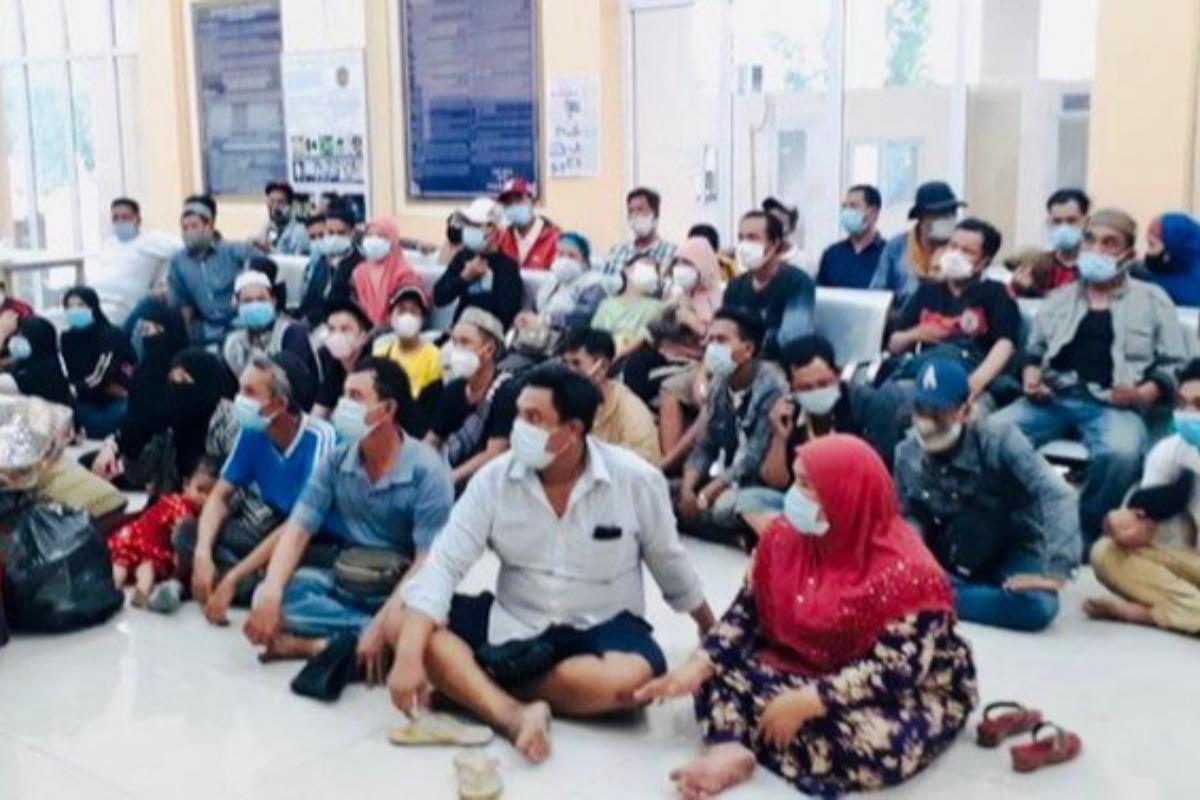 カンボジアからベトナムに不法入国、アンザン省で61人