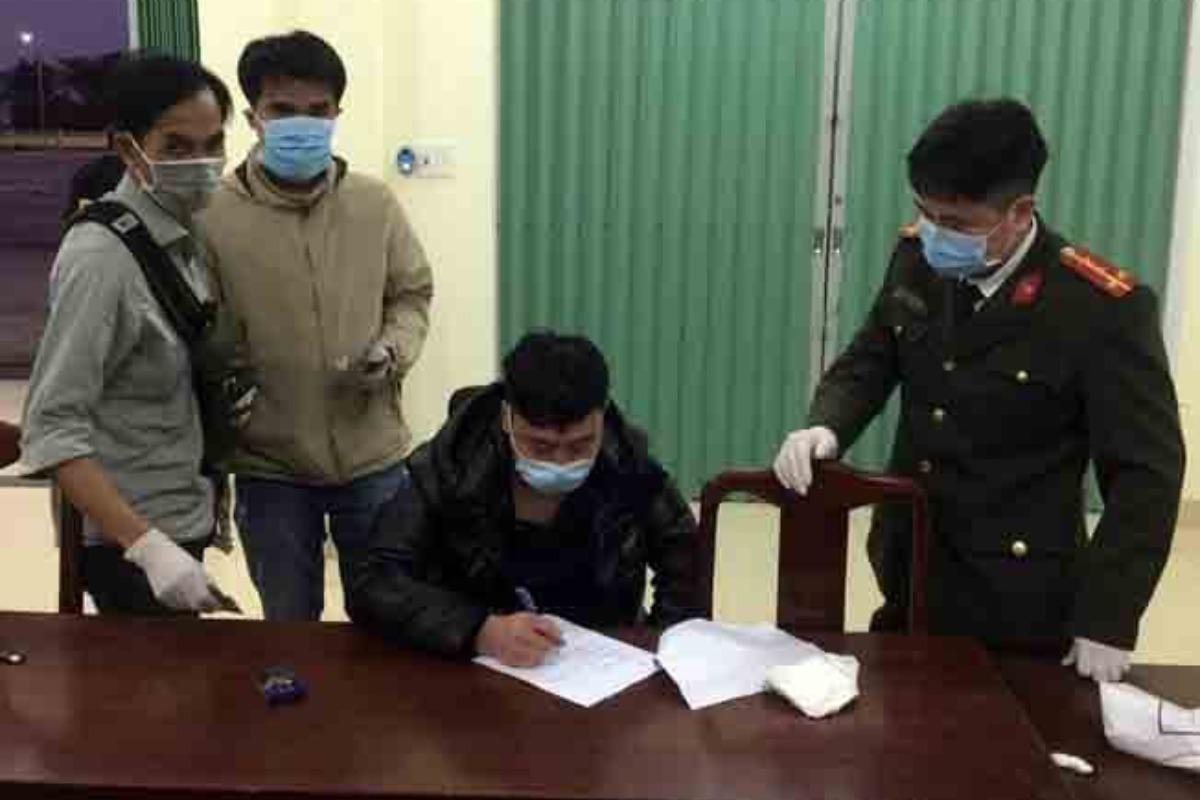 中国人が不法入国、罰金400万ドン