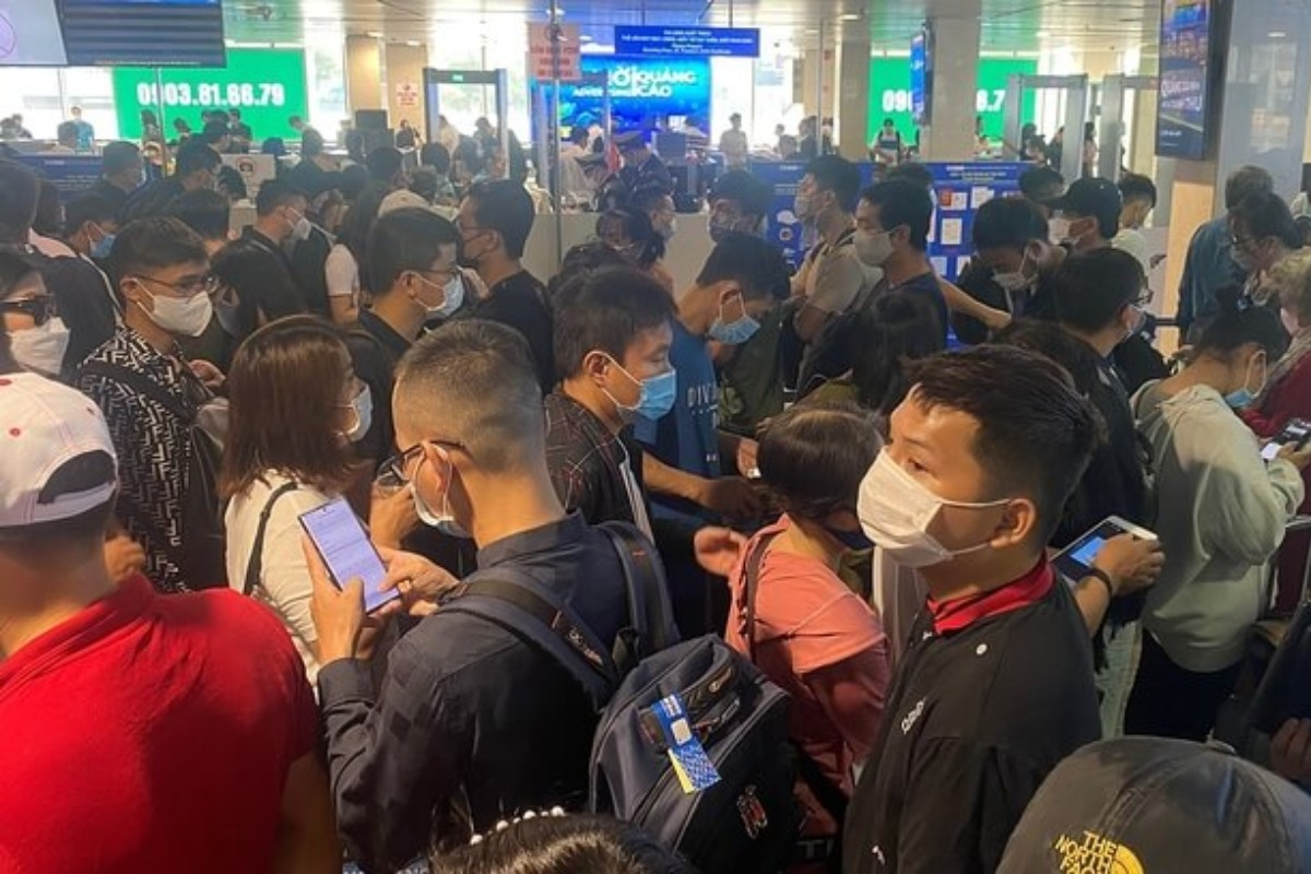 保安検査45秒以内、タンソンニャット国際空港混雑で交通副大臣要請