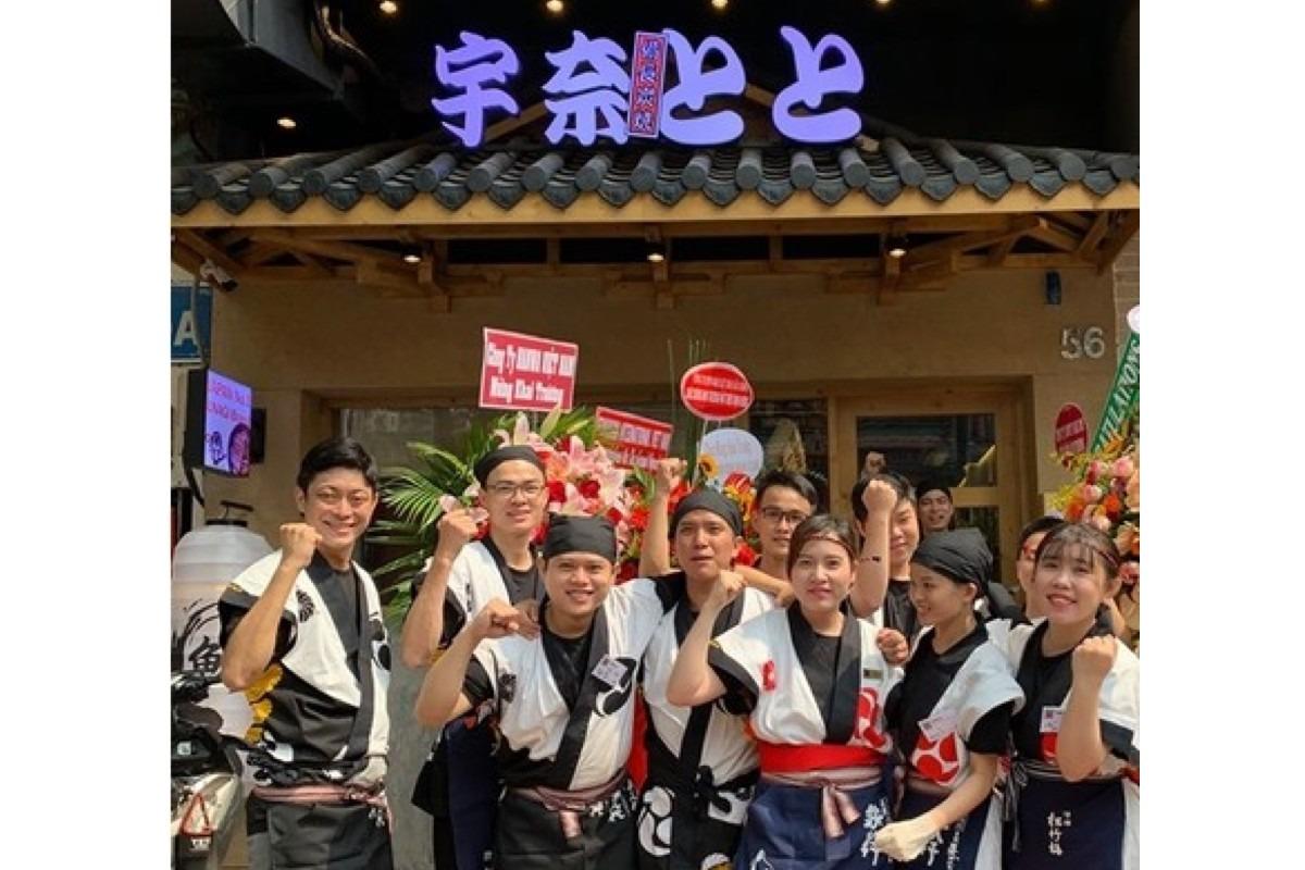 宇奈とと、6月末にベトナム2号店をタンビン区にオープン