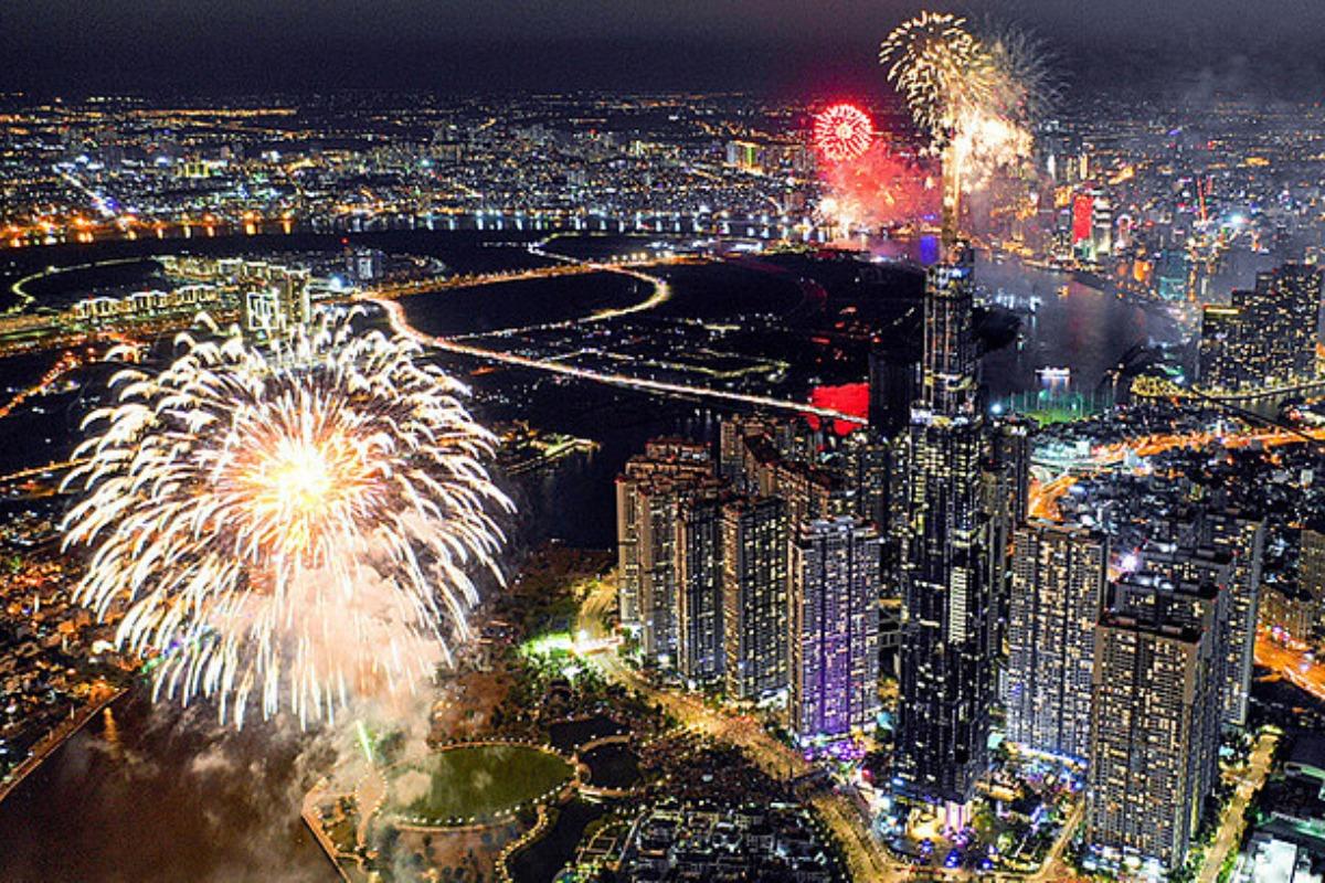 ホーチミン、南部解放記念日の花火打ち上げを中止