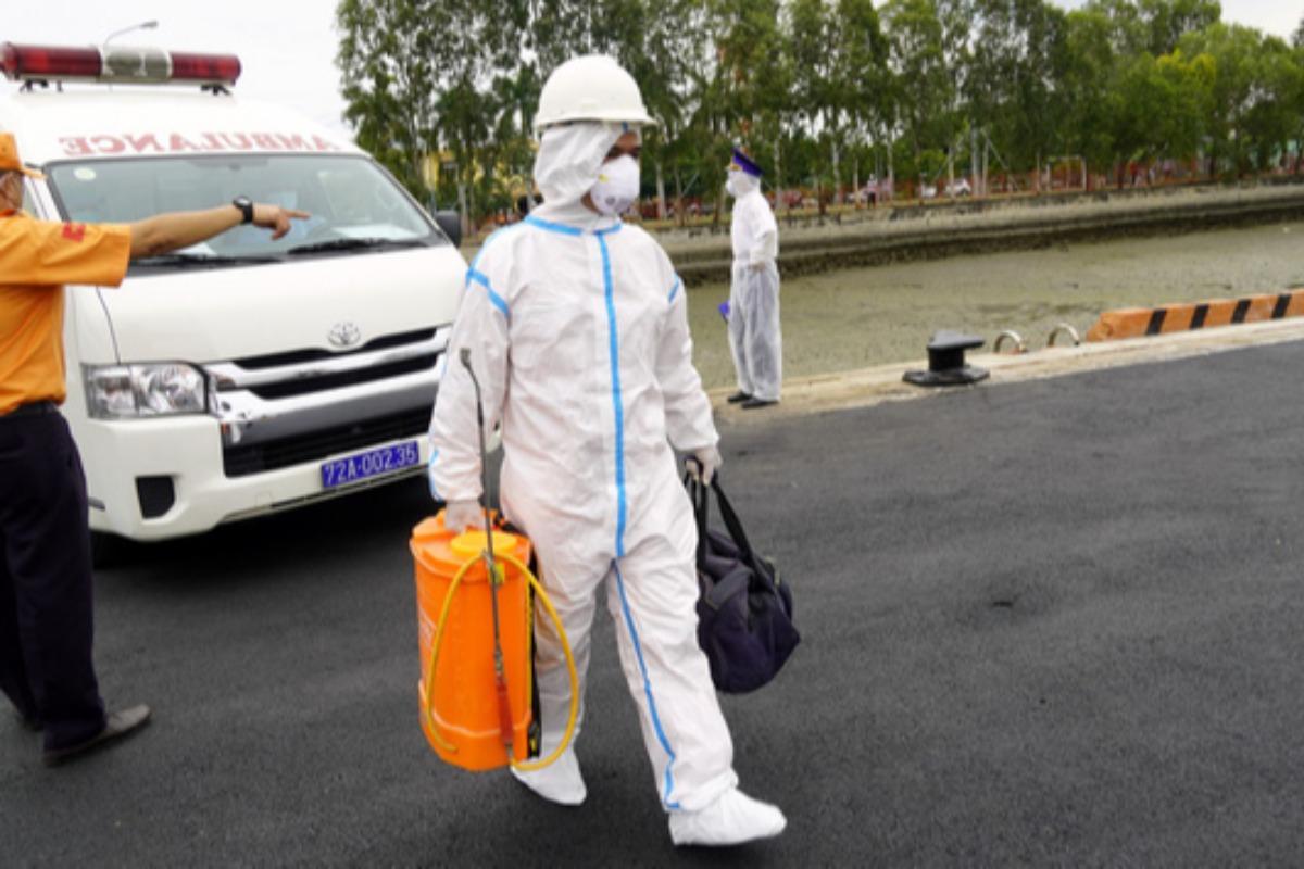 ブンタウで12人コロナ陽性確認、インドネシアから到着の船乗組員