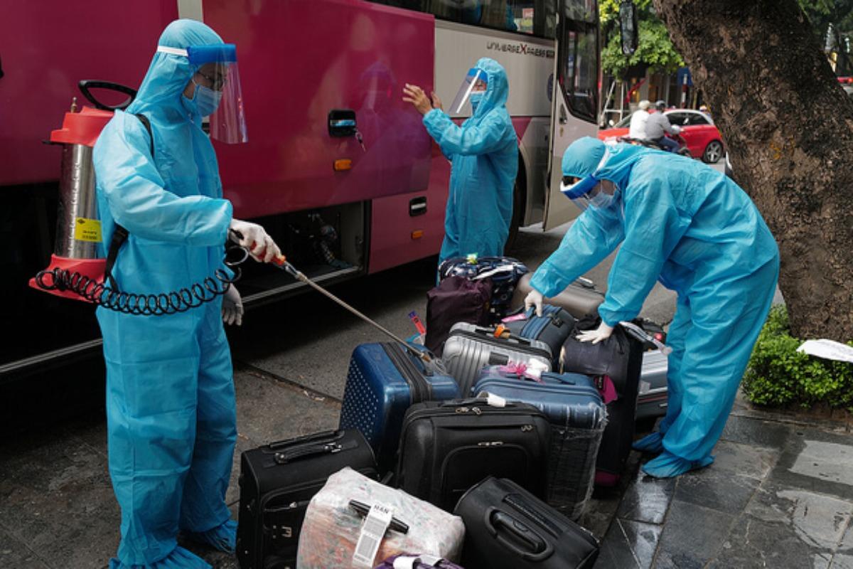 入国者の隔離期間を延長、ベトナム保健省が発表 市中感染発生で