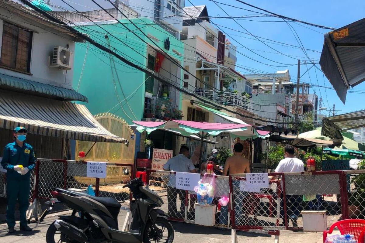 ホーチミン・ビンタン区で感染の疑い、72世帯居住のエリア封鎖