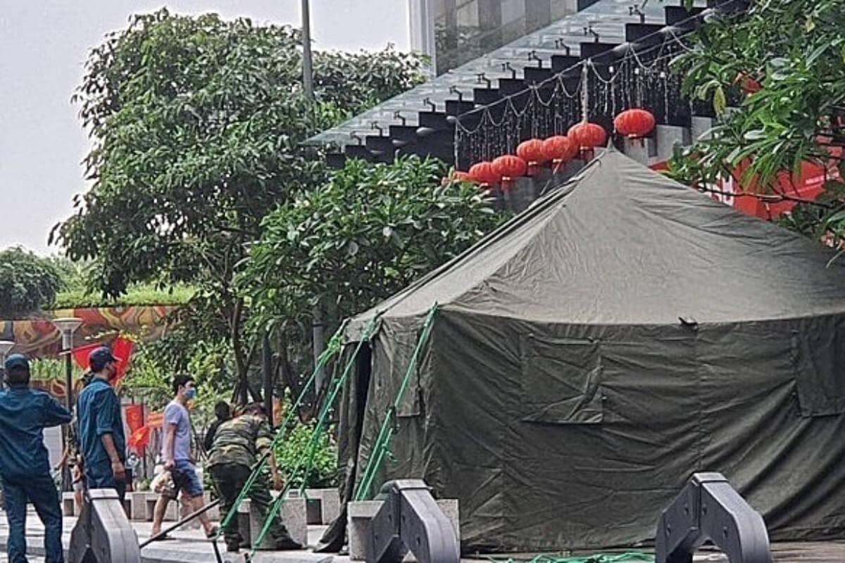 ベトナムで56人の新型コロナ感染者、選挙会場にも 24日午前発表