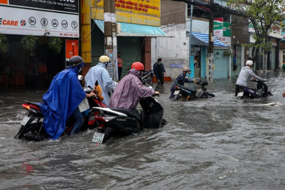ホーチミンは27日まで豪雨、道路冠水の可能性も