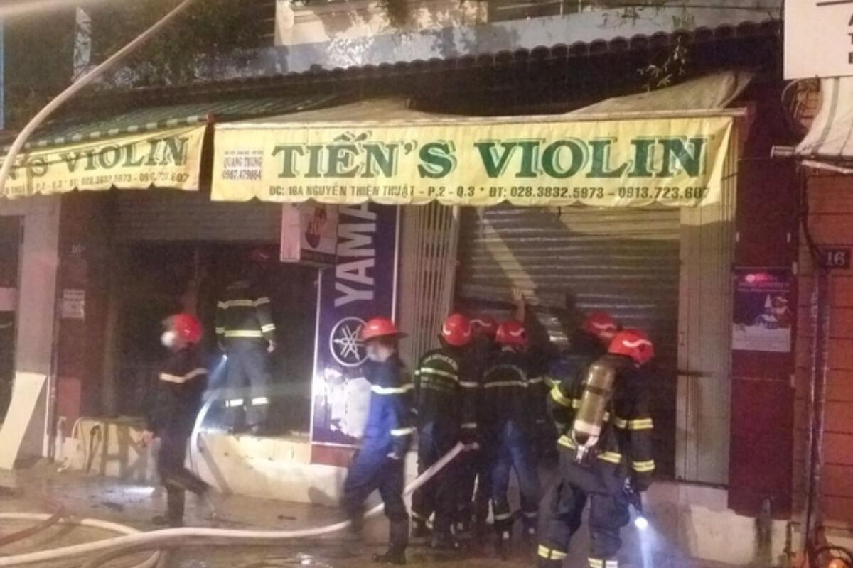 ホーチミン3区で火災、2人死亡