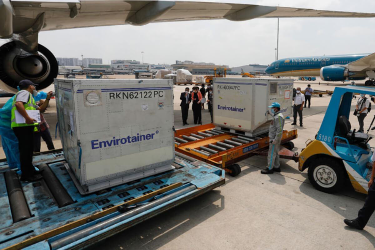 新型コロナワクチンを輸送の航空機は優先的に着陸許可:ベトナム