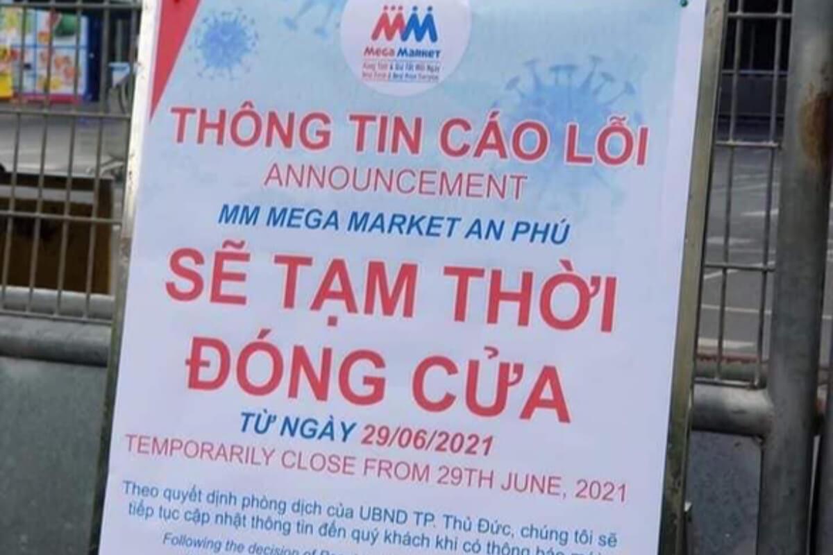 トゥードゥック市のメガマーケットが一時閉鎖に 新型コロナ関連で