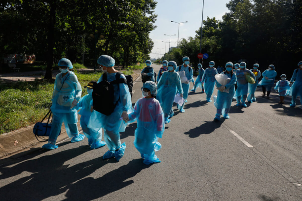 ベトナムで189人の新規感染者、ホーチミンで158人 1日朝発表