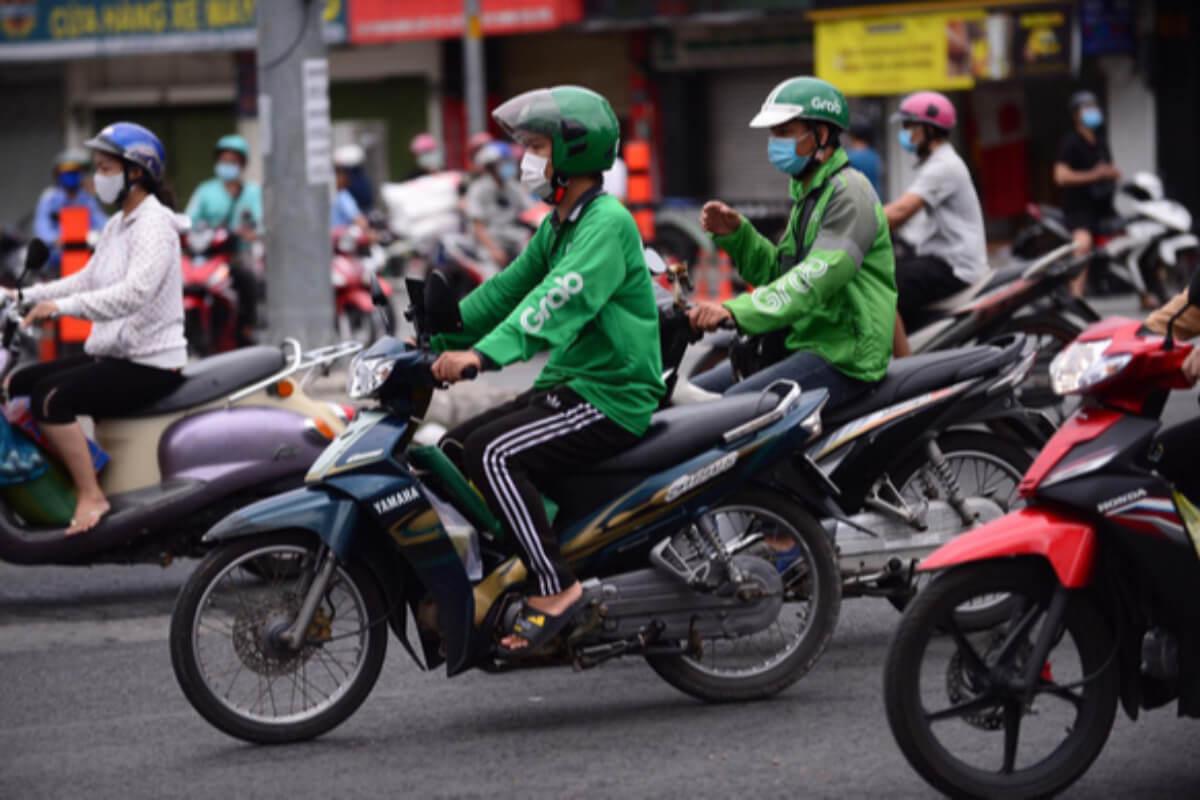 ホーチミン:バイクタクシーを一時停止、配達は通常通り