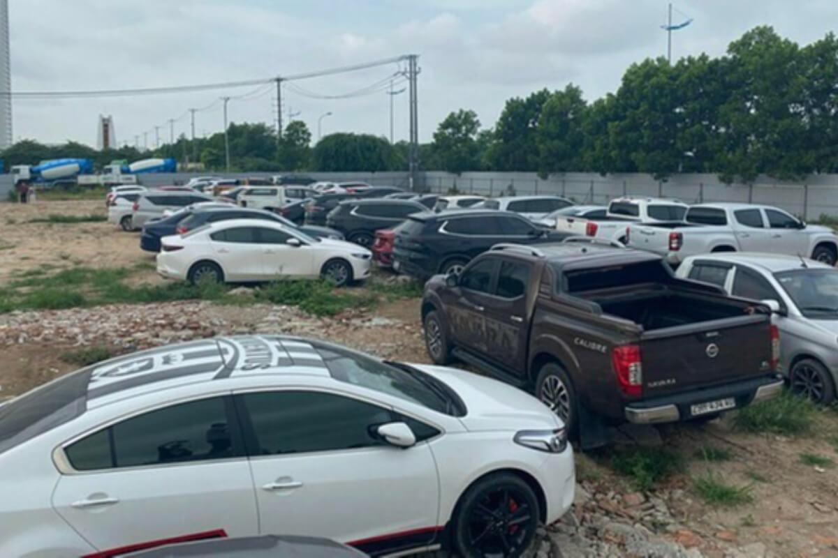 ハノイの駐車場で自動車約100台を盗難、容疑者グループを逮捕