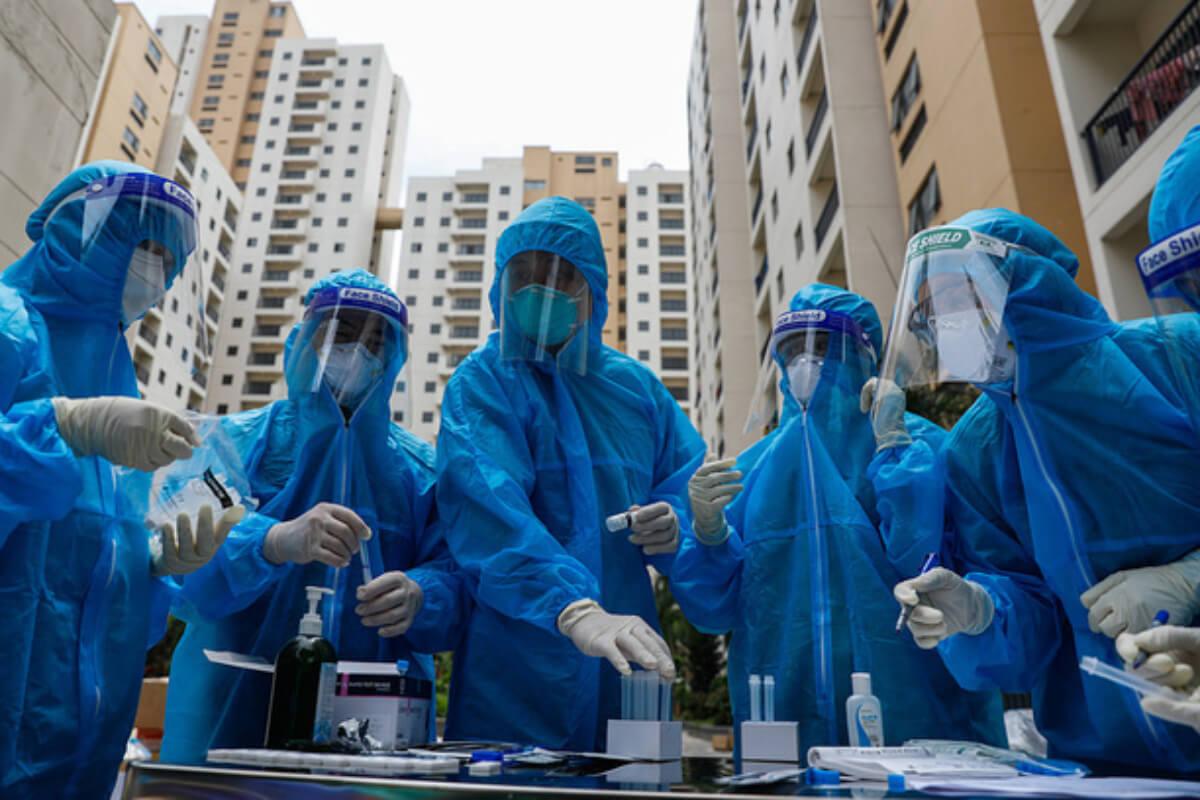 ベトナム :新規感染者905人、ホーチミン666人 14日朝発表