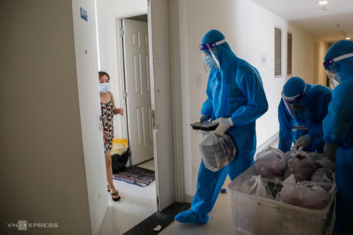 ホーチミンで新型コロナ感染者を自宅隔離、医療従事者から試験実施