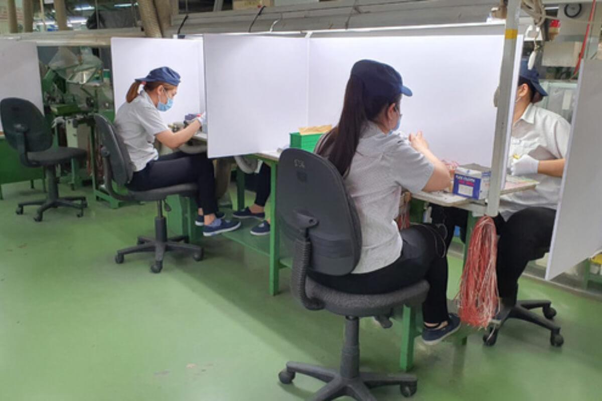 ホーチミン:工場での勤務を厳格化、寝泊りまたは寮の移動のみ許可