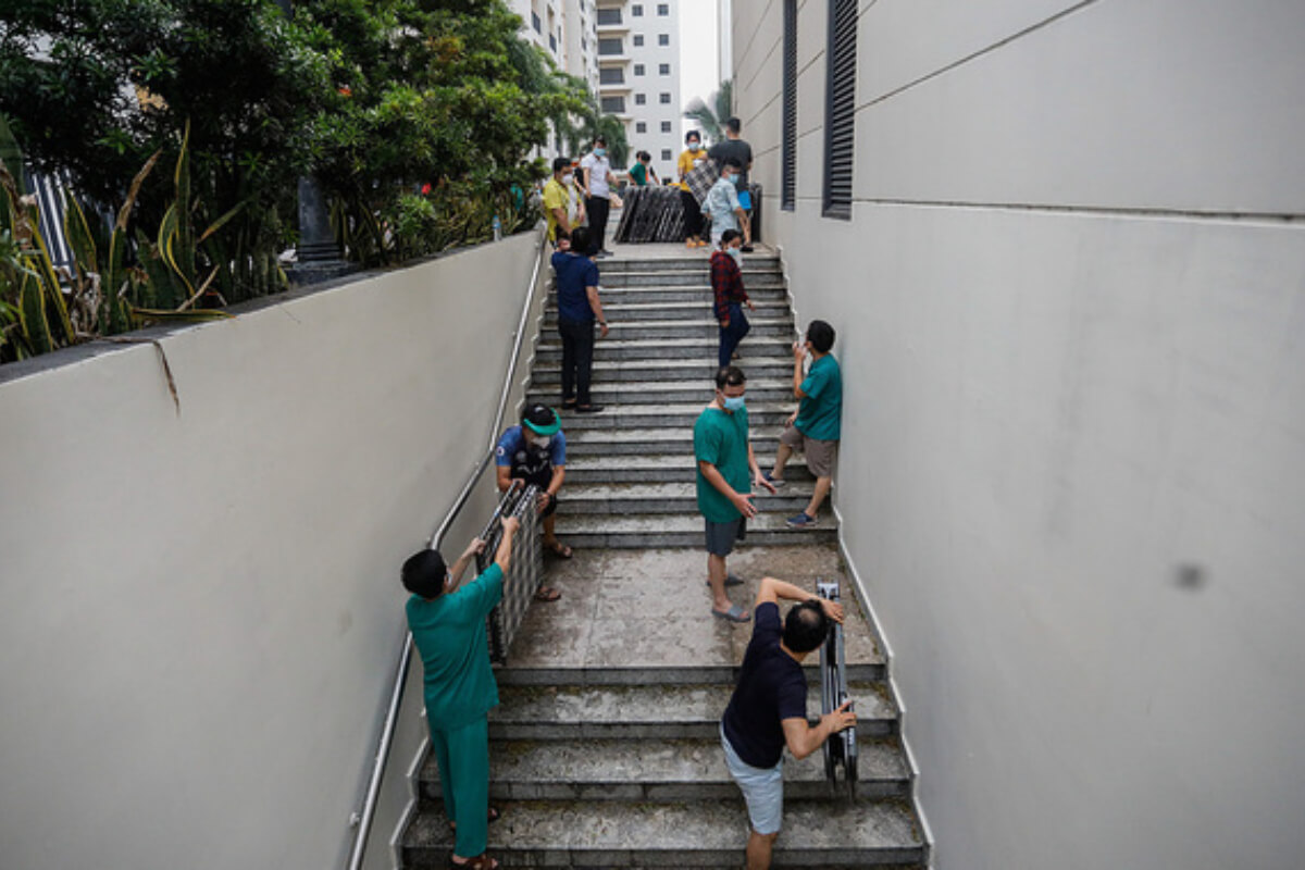 ベトナム:新たに新型コロナ感染者1438人を確認 16日朝発表
