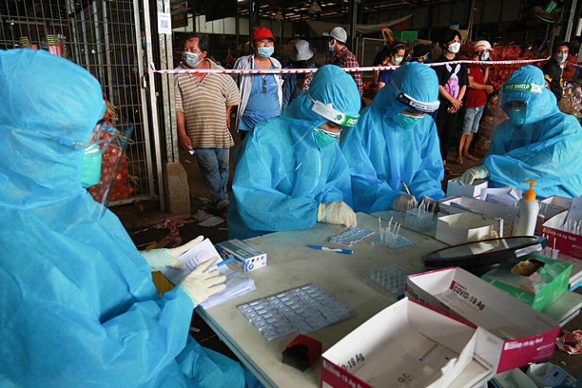 ベトナム:18日の新型コロナ感染者は5887人、過去最多