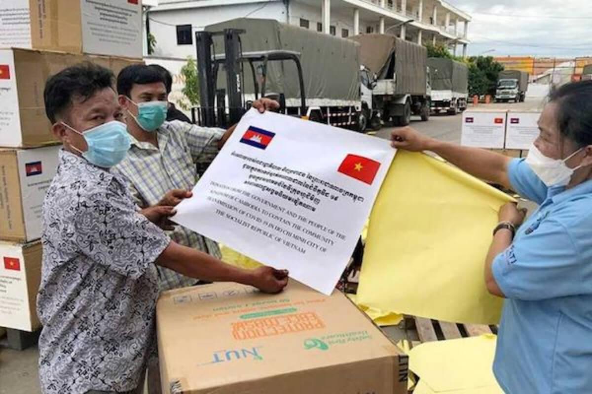 カンボジアがベトナムへ新型コロナ支援 ホーチミンの市中感染拡大で