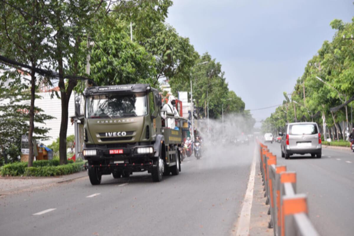 ホーチミン、市内全域に消毒剤散布へ 23日にトゥドゥック市など