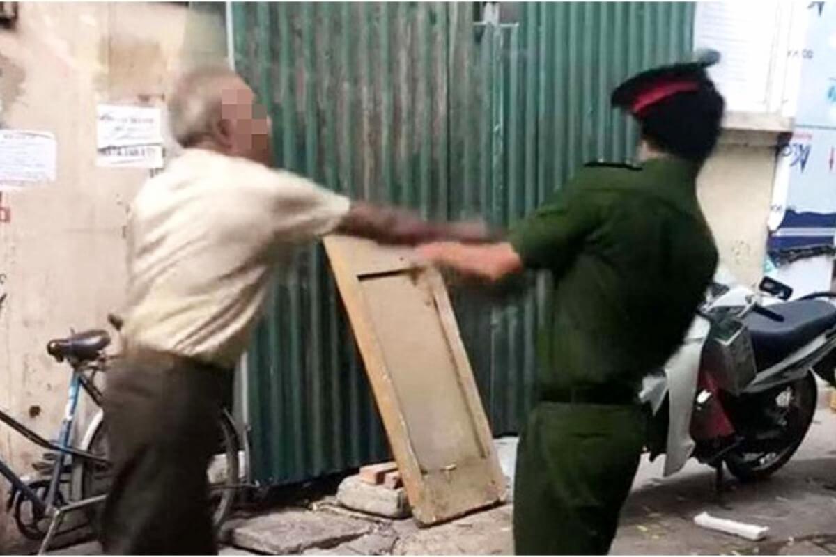 マスク着用を促した警察に激高、79歳男性に罰金:ハノイ