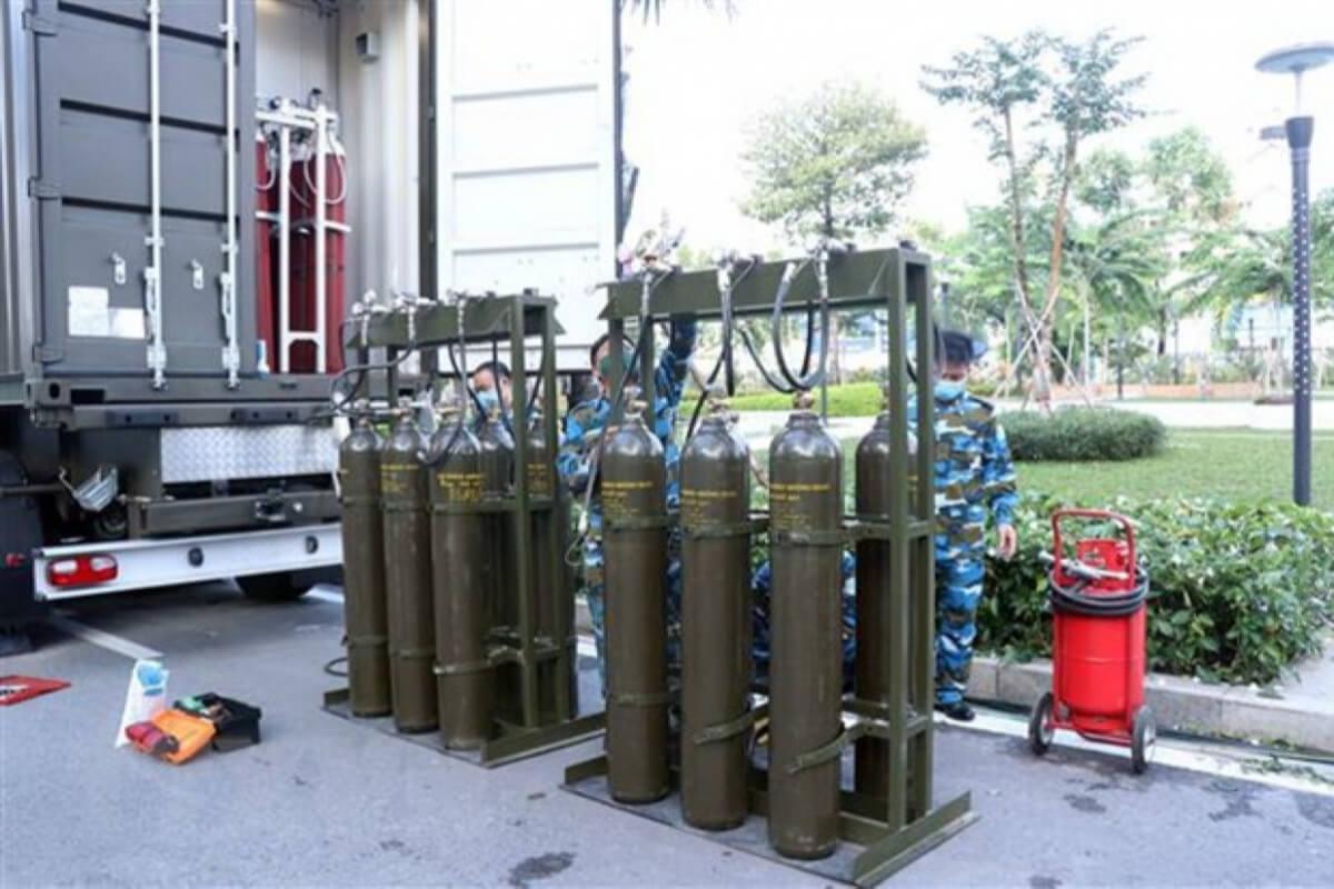 ホーチミン市で酸素ステーション2箇所運営、防空・空軍部隊