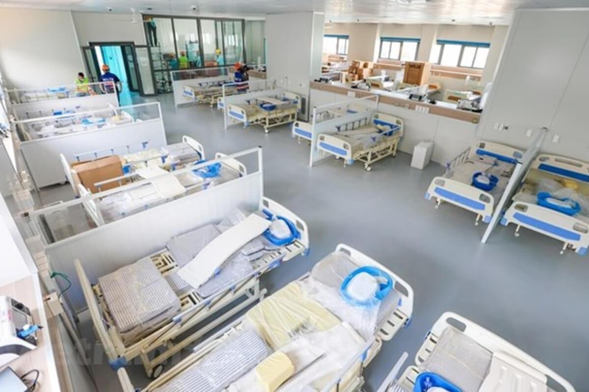 ハノイに建設の新型コロナ治療病院、9月1日開院へ 500床