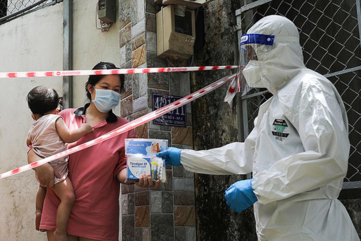 ベトナム:感染者1万2477人、前日から624人減少 6日夜発表