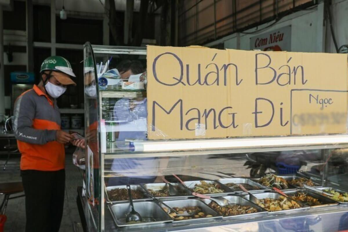 ホーチミン市:飲食店のデリバリーを再開