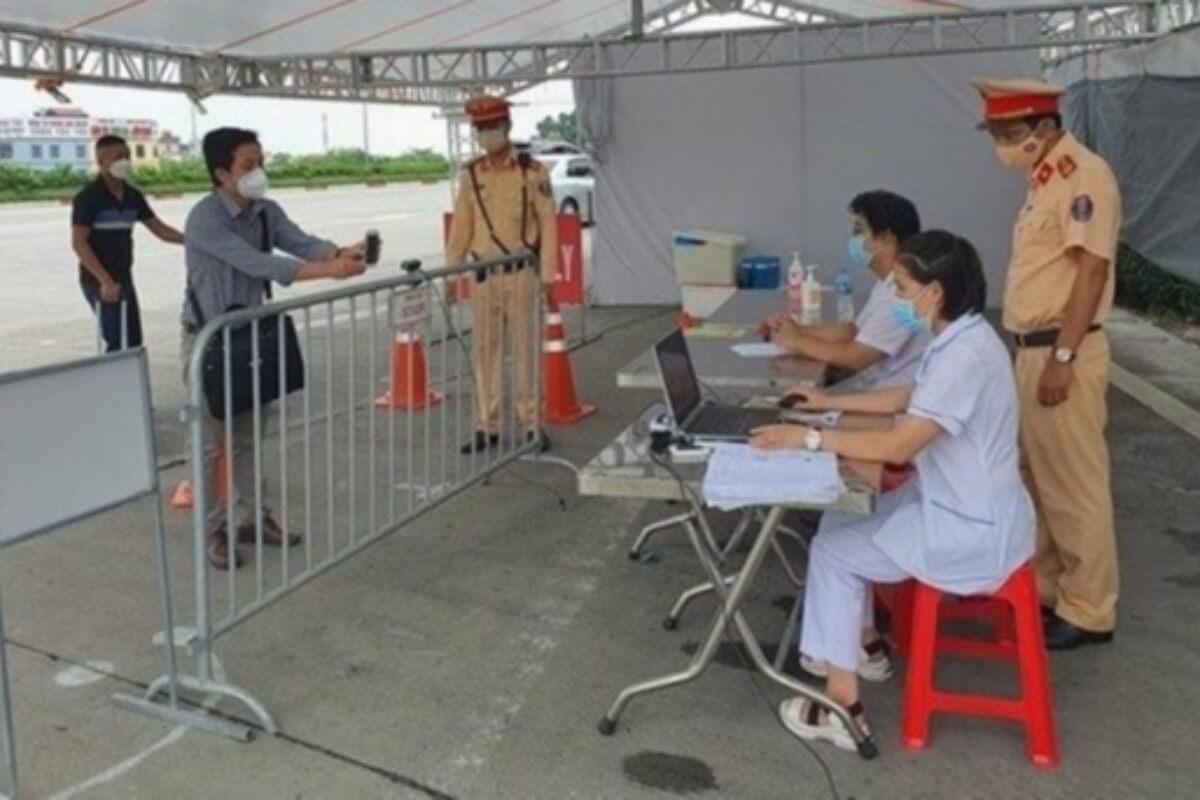 ハノイ:検問所67箇所にQRコードのスキャンカメラ設置