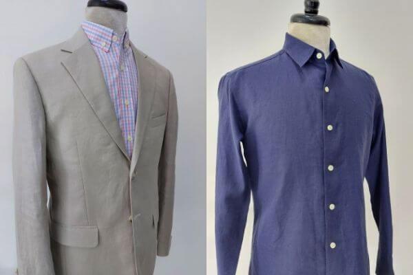 涼しいスーツ選びに!知っておきたい麻生地ビジネスウェア