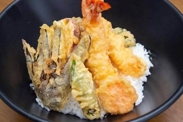 三好,天ぷら,日本食,デリバリー,天丼,焼きそば