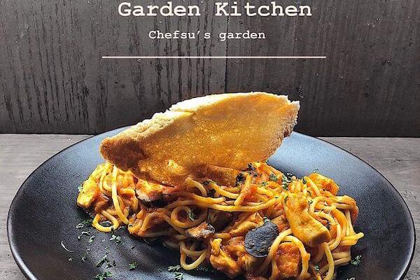 Garden-Kitchen,パスタ,サンドイッチ,デリバリー,ホアンキエム,ガーデンキッチン