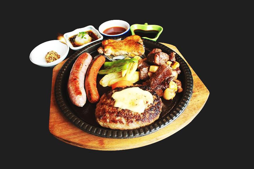 ハノイ,ステーキ,ハンバーグ,なり,也,日本食