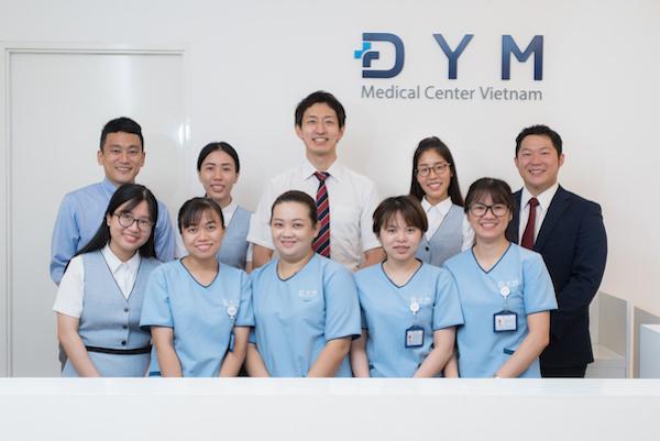 健康診断,DYMメディカルセンター,ワークパーミット,日系,病院,ホーチミン