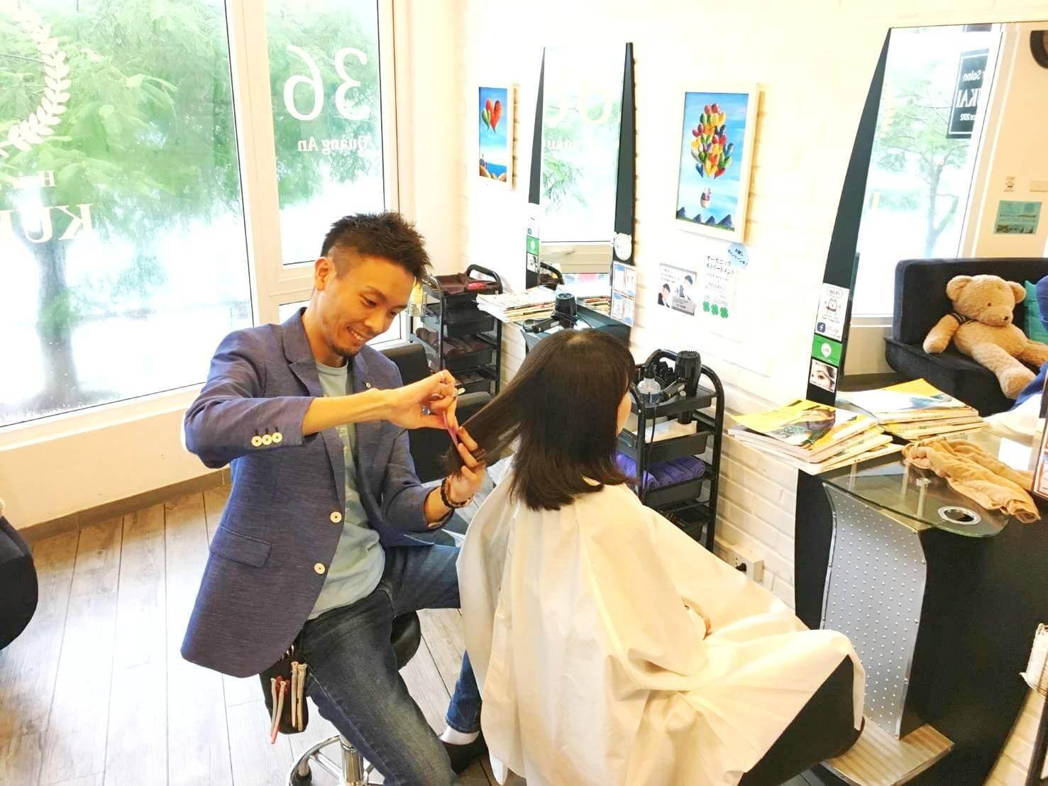 KUKAI,ハノイ,日系美容室,おすすめ,美容室,人気